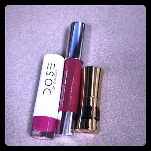 Lip bundle Dose of Color, Clinique, Buxom